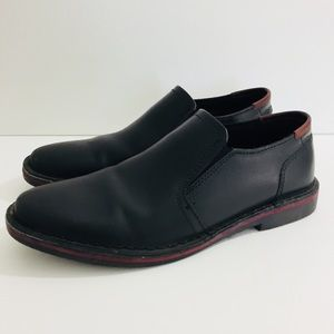 Mens Kenneth Cole Cross Thedesertle Black Sz. 8